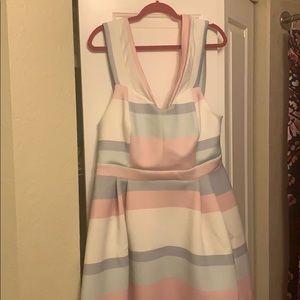 ASOS multicolored pastel dress